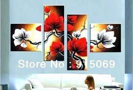 black and white wall art with red red flowers wall art black white and red canvas  on canvas wall art black white with red umbrella 215 x 325 with black and white wall art with red the fortune black white red canvas