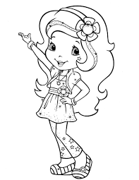 Small Picture Download Strawberry Shortcake coloring pages Patrones
