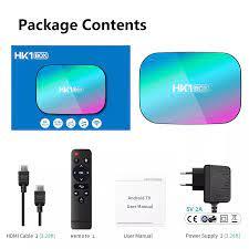 Hk1box Android 9.0 Tv Box Amlogic S905x3 Thông Minh Ott Hộp 8k 4g 32g Set  Top Box Hk1 - Buy Thông Minh Tv Box,8k Android Tv Box,Iptv Hộp Product on  Alibaba.com