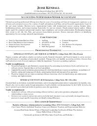 Staff Accountant Resume Samples Best Ideas Of Senior Accountant Resume Format Fabulous Staff 23