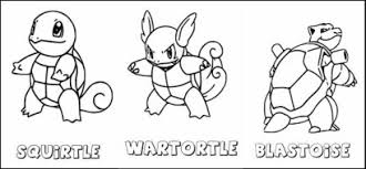 Small Picture Wartortle Coloring Pages GetColoringPagescom