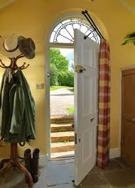 curtain for front doorFront Door Curtain Rail  Keep House Safe and Beautiful with Front