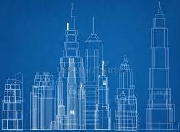 architecture blueprints skyscraper. Brilliant Blueprints Download Skyscrapers Concept Architect Blueprint Stock Photo  Image Of  Skyline Graphic 120086058 To Architecture Blueprints Skyscraper C