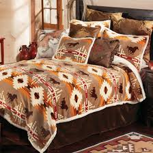western bedding sets queen size running free horse bed set lone star western decor