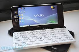 sony vaio. the second-generation vaio p sure is faster than first, but keep in mind that when we first tested at ces 2009 it came with vista. sony vaio