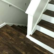 vinyl plank stair nosing vinyl plank stair nosing installation flooring how to do on stairs vinyl
