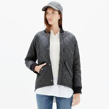 Quilted Session Bomber Jacket : jackets | Madewell &  Adamdwight.com