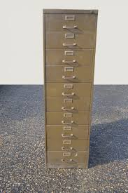 Green File Cabinet Thbnos08 Green Metal 10 Drawer Filing Cabinet Trevor Howsam Limited