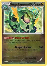 Pokemon card japanese rulers heavens rayquaza ex 047/054. Pokemon Mega Rayquaza Ex 8