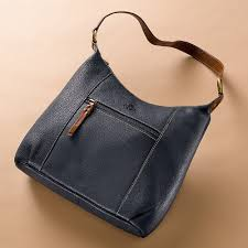 town and country leather bag