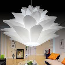 big house diy lotus chandelier lampshade beautiful decor romantic lighting cover