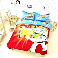 toy story twin bedding set queen for cartoon kids jessie comforter