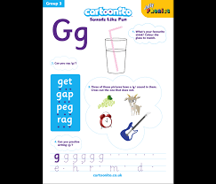 Split into 7 groups, the worksheets contain all 42 letter sounds. Resources Jolly Phonics At Home
