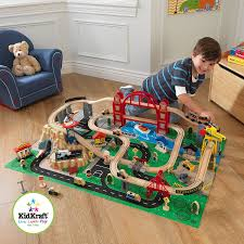 kidkraft metropolis train set with roll up felt play mat 2016 edition at low s in india in