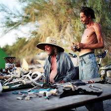 jim and jerry slab city the misfits photo essays claire martin jim left and jerry right try to sell trinkets to other