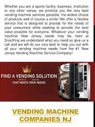 Vending Machine Companies In Nj Extraordinary Vending Machines NJ
