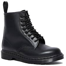 Dr Martens 1460 Mono 8 Eye Leather Boot For Men And Women