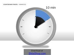 Ten Minutes Countdown Countdown Timers Animated