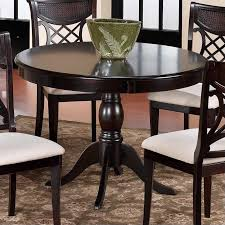 hilale glenmary round casual dining table in dark
