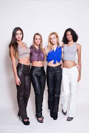 leather pants for women p
