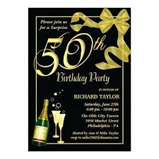 50th birthday invitation templates free 50th birthday party invitation templates gold black and white