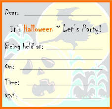 Blank Halloween Invitation Templates Free Blank Invitations Printable Party Templates To Print