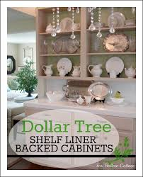 Put Kitchen Cabinet Shelf Liner Decorating Ideas | GylesHomes.com