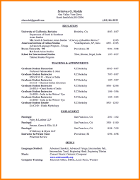 12 Example Academic Cv Letter Setup