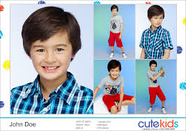 what is a comp card become a model cutekids