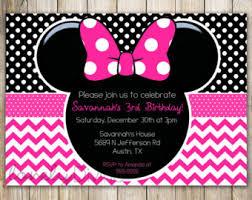 Minnie Mouse Blank Invitation Template Minnie Mouse Blank Invitation Template Barca Fontanacountryinn Com