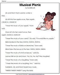 1st Grade Reading Comprehension WorksheetsReading Comprehension Worksheet