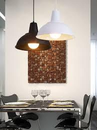Ywxlight Retro Bedroom Pendant Light Creative Pendant Lamp E27 Led Bulb Ac 220v Black Warm White