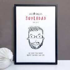 personalised super dad daddy or grandad gift
