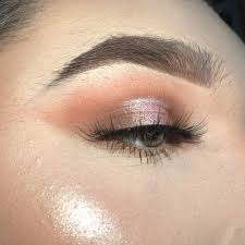 cute basic glitter moment makeup amino