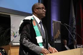"""Résultat de recherche d'images pour """"image du docteur Mukwege prix nobel de la paix"""""""