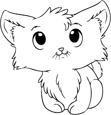 Coloring Picture Of Cat Kitty Cat Coloring Page Kitty Cat Coloring