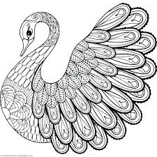 swan coloring pages swan coloring pages swan lake colouring pages