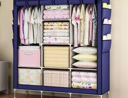 phenomenal marshall storage closet design blue ikayaa portable fabric clothing wardrobe ideas 1024