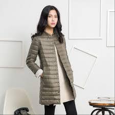 1pc thin down jacket winter coat women winter coat women long coats outerwear parka chaquetas mujer manteau femme z009outerwear
