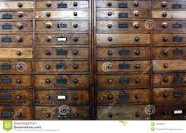Antique Drawer Cabinet Old Archive Drawers Cabinet Royalty Free Stock Images Image