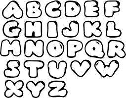 Bubble Letter Designs Cool Letters Zimer Bwong Co