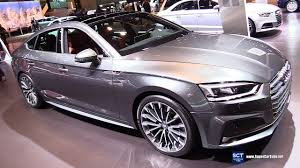 2018 audi a5 sportback. plain 2018 2018 audi a5 sportback tfsi quattro  exterior interior walkaround 2017  chicago auto show youtube throughout audi a5 sportback i