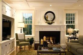 living room ideas tv over fireplace stylish simple with cool rooms for w