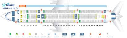 Uncommon Air Transat A330 Seating Chart 2019