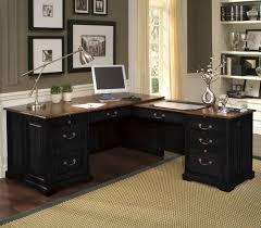 home office desk vintage design. glass home office desks black l shaped desk for vintage design a