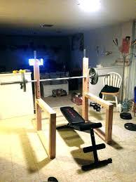 diy weight rack weight bench full image for nautilus fold up bench press squat rack and diy weight rack