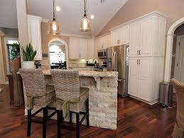 Raised Kitchen Floor Traditional Kitchen With Pendant Light By Kari Patterson Zillow