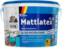 <b>Dufa Retail Mattlatex</b> Plus <b>краска</b> латексная матовая. Реализация ...