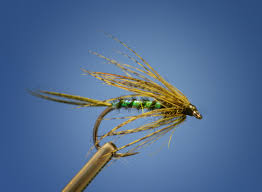 Green Drake Fly Pattern Awesome Decoration