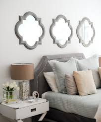 Bed Bath and Beyond Mirrors, Inspire Q Esmeral Grey Linen Button Tufted  Arched Bridge Upholstered